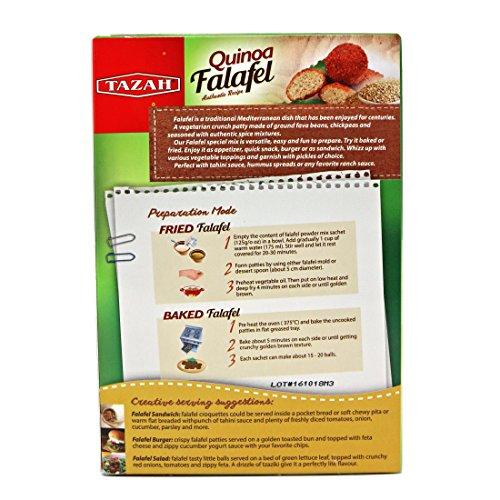 Tazah Quinoa Falafel Mix 4.4 Oz / 125 Gr by Tazah (Image #2)