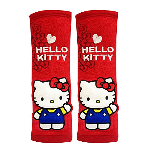 Hello Kitty Seat Belt Covers (Pair) Red for sale  Delivered anywhere in Canada
