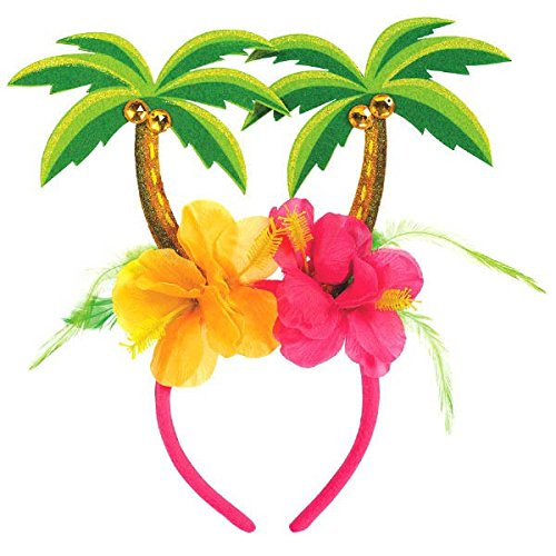 amscan Palm Tree Party Head Bopper, 10.25