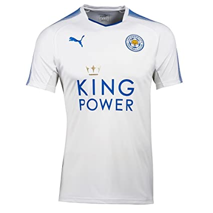 be1f1c94ee0 Amazon.com   PUMA Leicester City 3rd Jersey 2017 2018   Sports ...