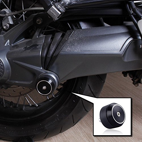 Tmsuschina Rear Axle Swingarm Drive Shaft Crash Slider Protector Cover for BMW R Nine T R9T