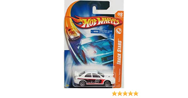 Track Stars Series #2 Subaru Impreza Hot Wheels #2007-110 1:64 Scale Collectible Die Cast Car