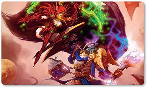Warcraft96 – Juego de mesa de Warcraft tapete de mesa Wow juegos teclado Pad Tamaño 60 x 35 cm World of Warcraft Mousepad para Yugioh Pokemon MTG o TCG: Amazon.es: Oficina y papelería