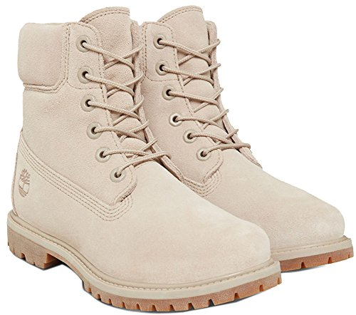 Added Durable With Boots Women��s 6 Leather Comfort Taupe For Padded Collar Suede Timberland Uppers inch Simply Waterproof Premium 1qYOxwXwz