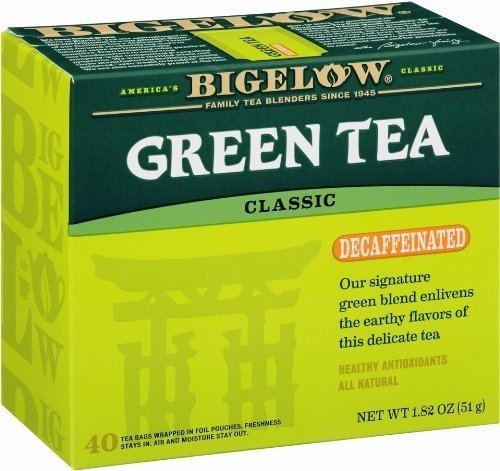 BIGELOW TEA DECAF GRN, 40 BG by Bigelow Tea