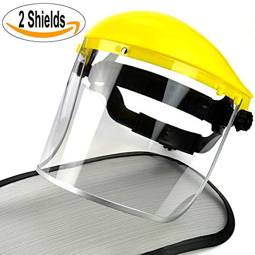 140863 Silverline Face Shield /& Visor Clear