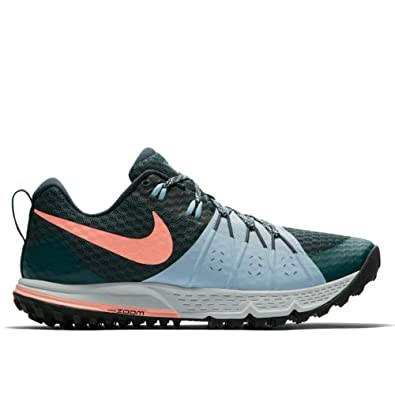 Amazon.com: Nike Womens Air Zoom Wildhorse 4 Womens Trail Running Hiking Shoes (9.5 B US) Green: Shoes