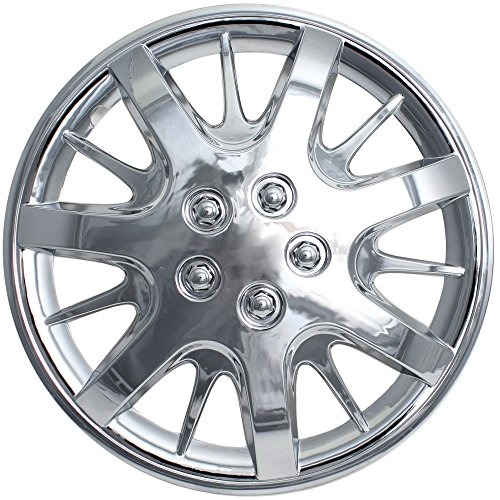 16 chrome hubcaps impala - 6
