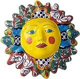 Multicolor Talavera Ceramic Sun Face