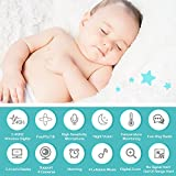 """Baby Monitor, Video Baby Monitor 2.4""""HD LCD Screen, Baby Monitors with Camera and Audio Night Vision,Support Multi Camera,ECO Mode,Two Way Talk Temperature Sensor,Built-in Lullabies (2.4)"""