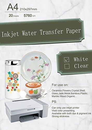 Inkjet Water Slide Transfer Decal - 3