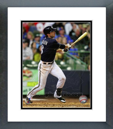 Ryan Braun Milwaukee Brewers 2012 Batting Framed Picture 8x10