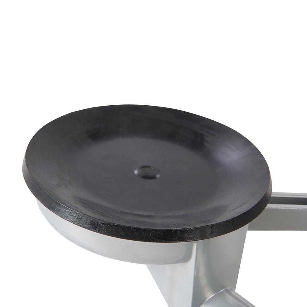 Silverline 837325 Ventouse triple en aluminium 100 Kg