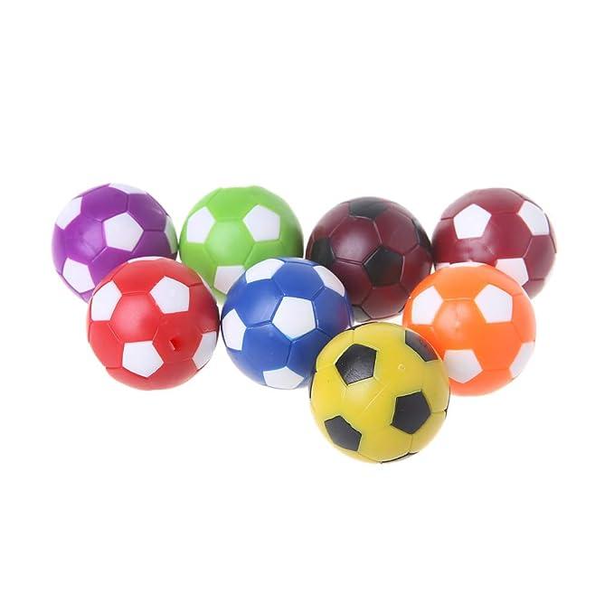 Lamdoo 2 Piezas 36 mm de Mesa balón de fútbol Juego de Interior Foosball Football Machine Parts: Amazon.es: Hogar