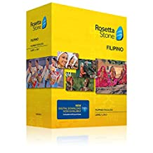 Rosetta Stone Filipino (Tagalog) Level 1-3 Set