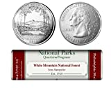 White Mountain National Forest P Mint Quarter Roll