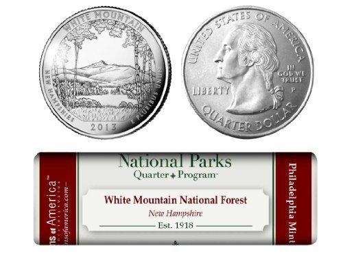 White Mountain National Forest P Mint Quarter (Mint Quarter Roll)