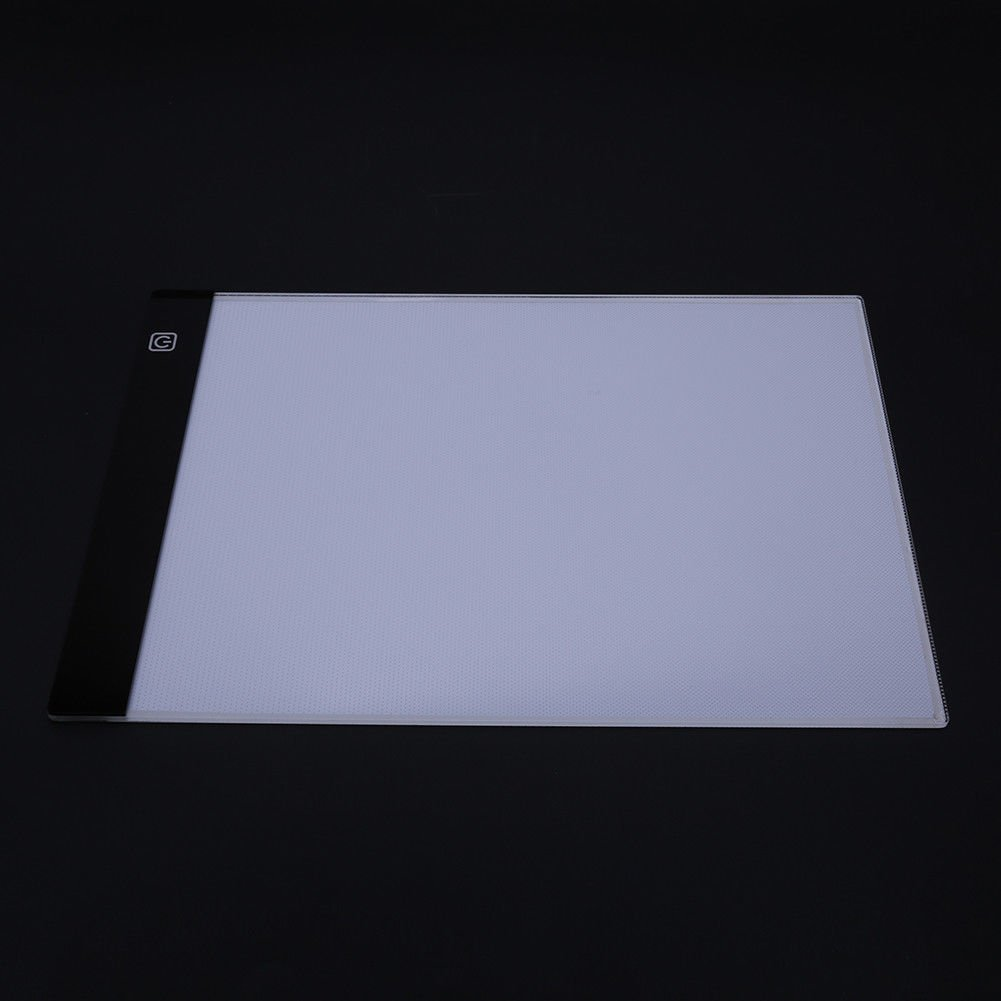 A4 LED Light Box Drawing Board - BESTGIFT Tracing Board USB Power Ultra-Thin Digital Tablet Brightness Adjustable Pad Copy Table for Artist by BESTT (Image #5)