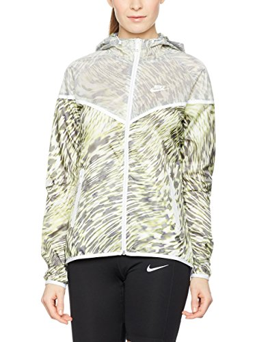Windrunner Lima Running Nike Impermeable Mujer Negro De Hyperfuse Tech Blanco La Chaqueta qWzEA