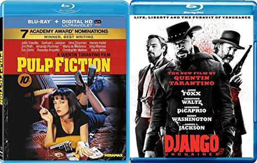 Pulp Fiction & Django [Blu-ray] Quentin Tarantino Set Double Feature