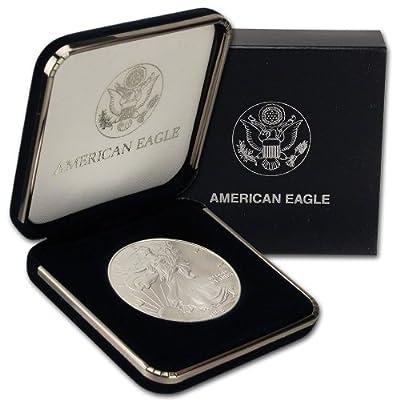 1998 American Silver Eagle $1 Gift Box U.S. Mint