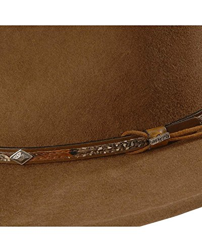 Stetson Men s Wildwood Acorn Crushable Wool Felt Hat Acorn Medium · Stetson  SWMTSK-8132 Mountain Sky Hat e2bf39223c72