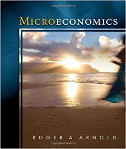 Book By Roger A. Arnold Microeconomics (9th Edition)