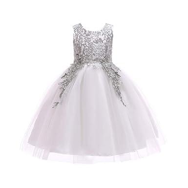 Vestido de Fiesta Niña, Princesa Disfraz Traje Parte Las ...