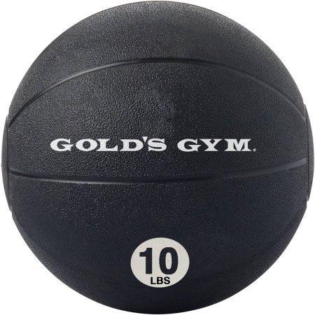 ゴールドジム10 lb Medicine Ball、ブラック B01N6LFCWC