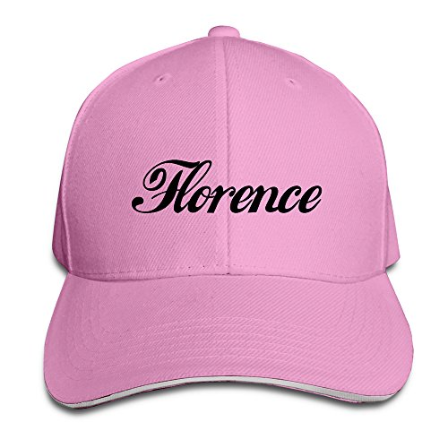 Men's Italy Florence Beautiful City Washed Twill Sandwich Caps Hats