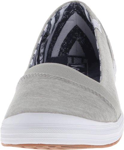 Keds Womens Cali Slip-on Mote Sneaker Grå