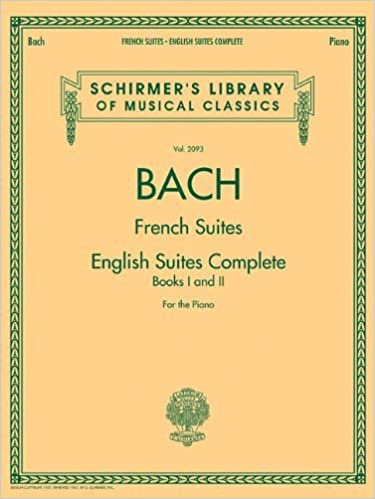 French Suites English Suites Complete Edition (Schirmer's Library of Musical Classics) (2012-03-19)