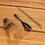 BambooMN Matcha Whisk Set - Black Chasen