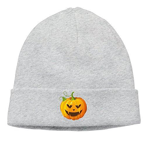 Fashion Halloween Pumpkin Ash Head Cap Skull Caps Hiphop For Unisex