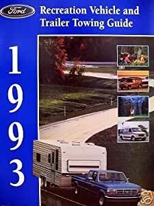1993 Ford RV & Trailer Towing Guide
