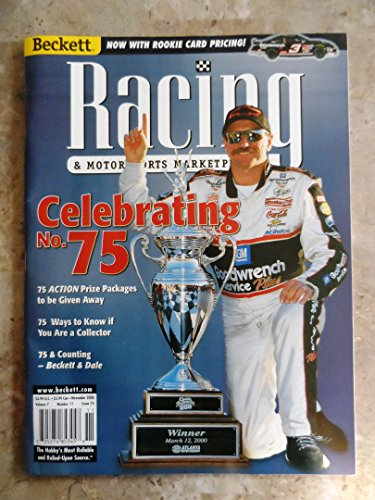 November 2000 Beckett Racing Card Price Guide w/Dale Earnhardt Cover