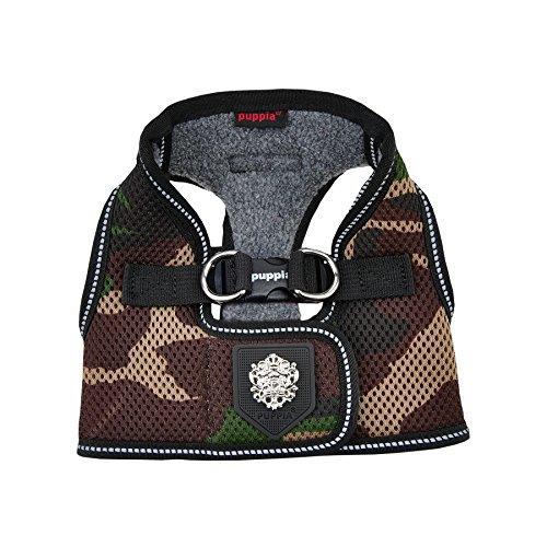 Puppia Soft Vest (Puppia Thermal Soft Vest Harness, XX-Large, Camo)