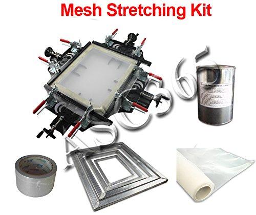Screen Mesh Stretching Kit by Screen Printing Equipment