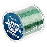Magreel 80lb Braided Fishing Line, Abrasion Resistant Braided Lines High Performance Strong 8 Strand Superline Smaller Diameter Zero Stretch-327Yards