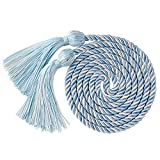 "GraduationMall Graduation Honor Cord 68"" SkyBlueWhite"