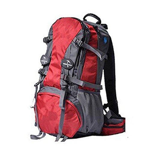 Red Voyage Randonnée Sac BAILIANG Portable Pour 55L Ordinateur Camping Pour Dos 36 à étanche OqWzwU