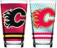 NHL Calgary Flames Mixing Glass, 2-Pack