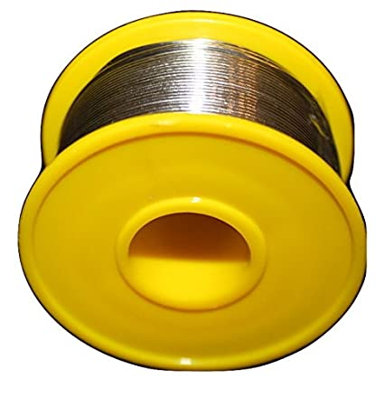 60/40 Tin/Lead Flux 2.0% 0.8mm rosin flux solder wire Roll (100 gms) - 0.22lb - - Amazon.com
