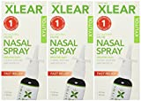 xclear nasal spray - Xlear Sinus Care Nasal Spray, 1.5 Fl Oz (Pack of 3)