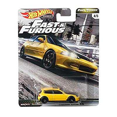 Hot Wheels Fast & Furious Fast Tuners Honda Civic EG: Toys & Games