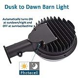 100W LED Barn Light, SZGMJIA 15000lm Dusk to Dawn