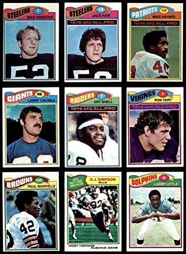 1977 topps football complete set - 6