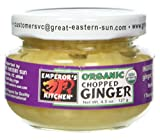 Emperor's Kitchen Organic Chopped Ginger 12 count  (pack of 1) ( Value Bulk Multi-pack)