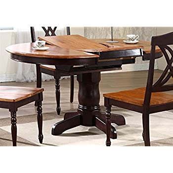 Amazon.com - Square Butterfly Leaf Dining Table - Tables