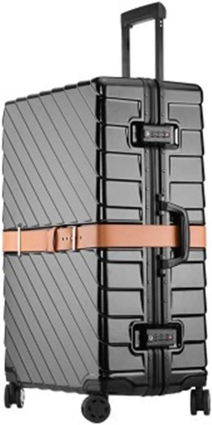 MJY Maleta 20/24/29 pulgadas Tamaño Pc Marco de aluminio Equipaje rodante Super Moda Alta calidad, lujo,No. 4,20 '